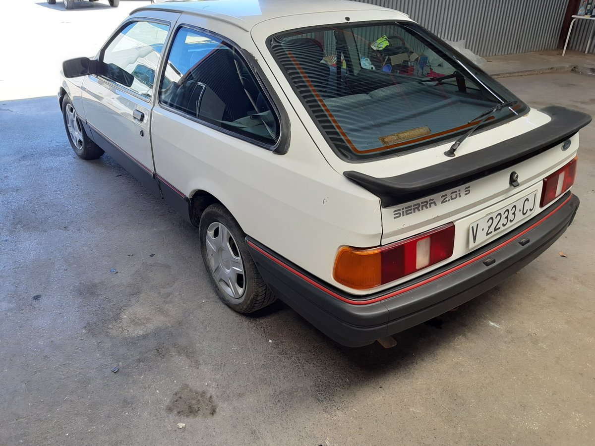 1987 Ford Sierra 3 door For Sale (picture 2 of 6)
