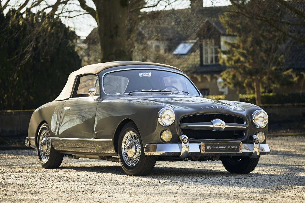Ford Comète Cabriolet V8 'Monte Carlo' 1953 For Sale (picture 4 of 6)