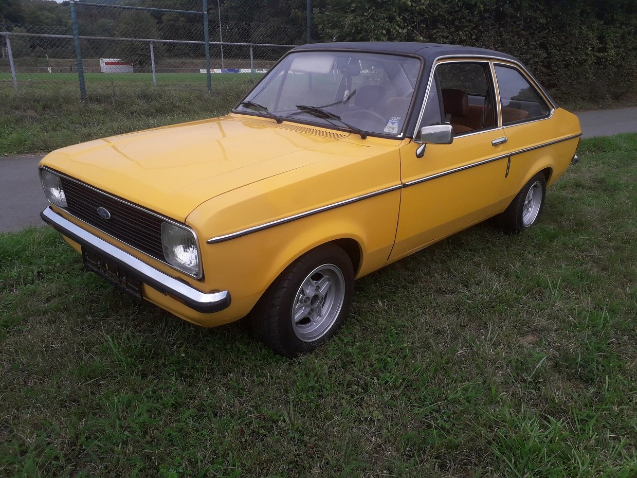 1978 Ford Escort MK2 2-door For Sale (picture 1 of 6)