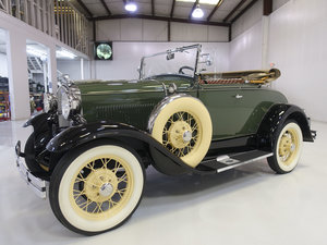 1930 Ford Model A Deluxe Rumble Seat Roadster For Sale