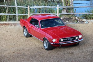1967 Classic Ford Mustang 289 Coupe Manual For Sale