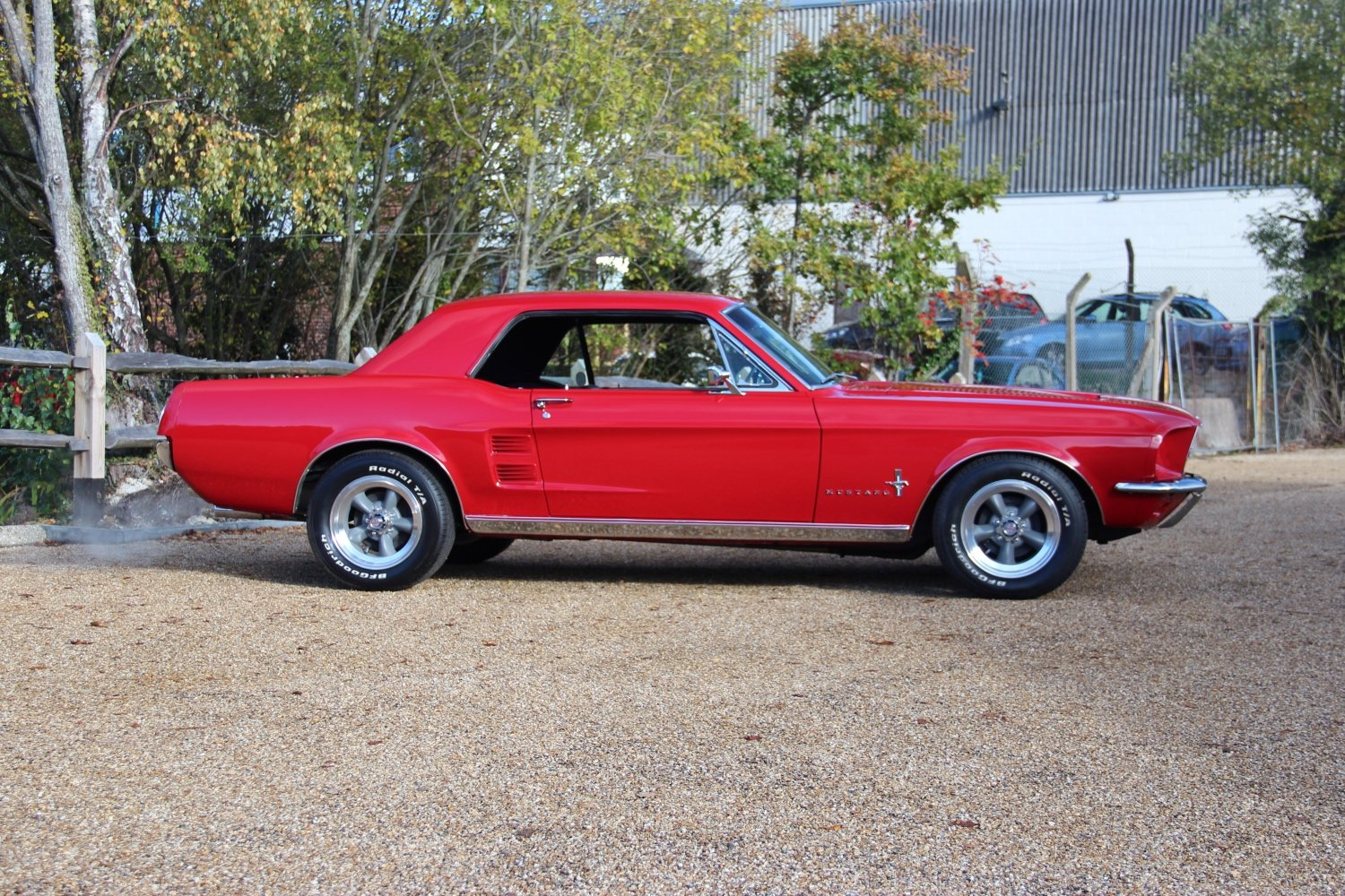 1967 Classic Ford Mustang 289 Coupe Manual SOLD (picture 2 of 6)