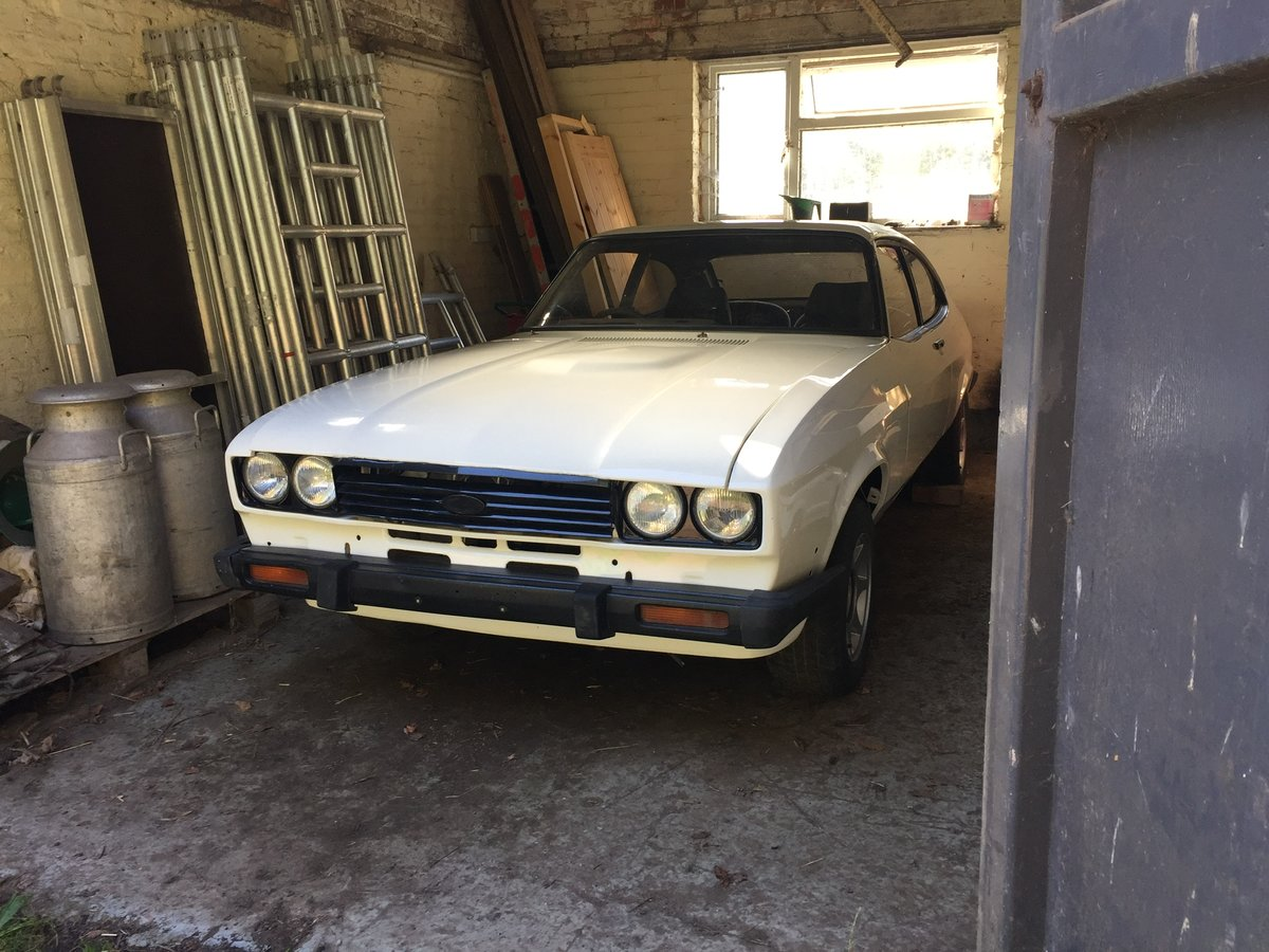 1983 Ford Capri 2.8 i restored requires finishing For Sale (picture 1 of 6)