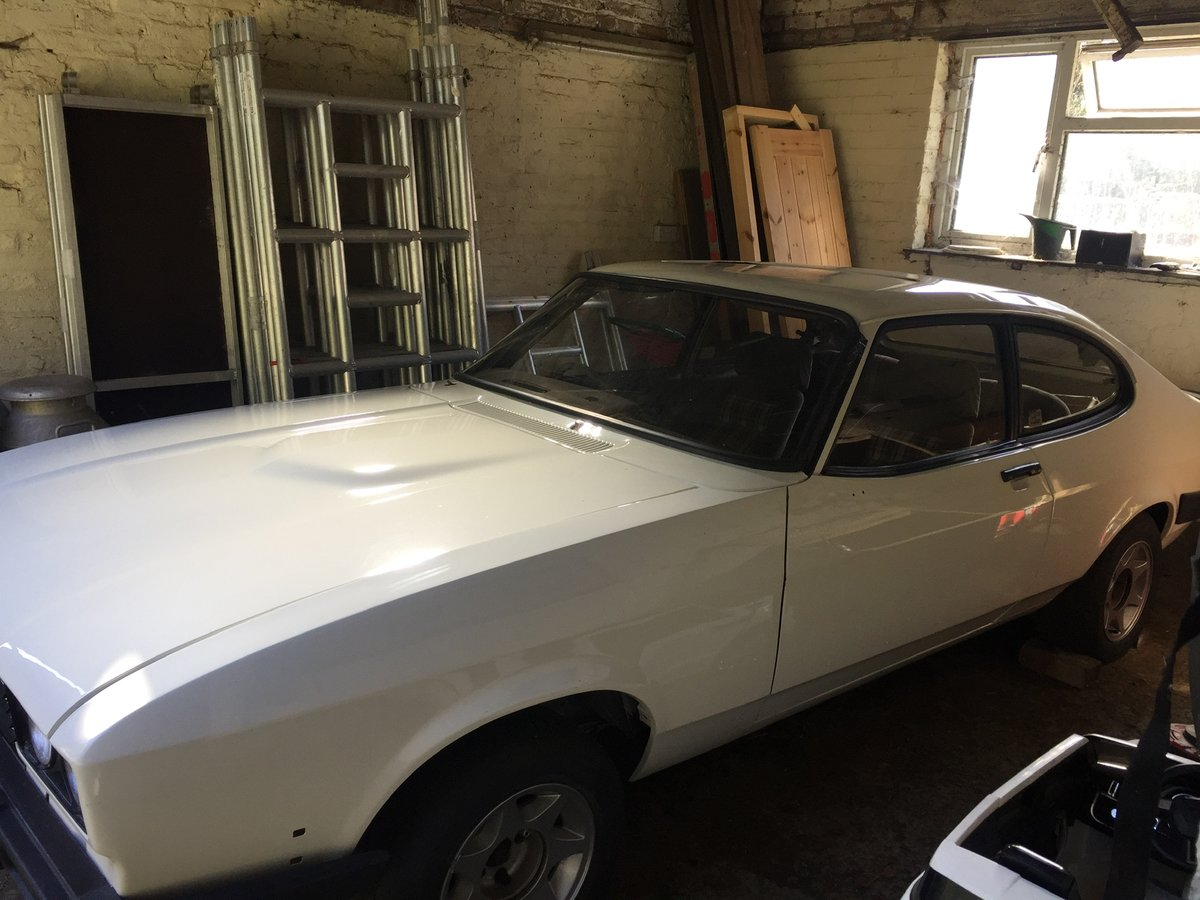 1983 Ford Capri 2.8 i restored requires finishing For Sale (picture 2 of 6)