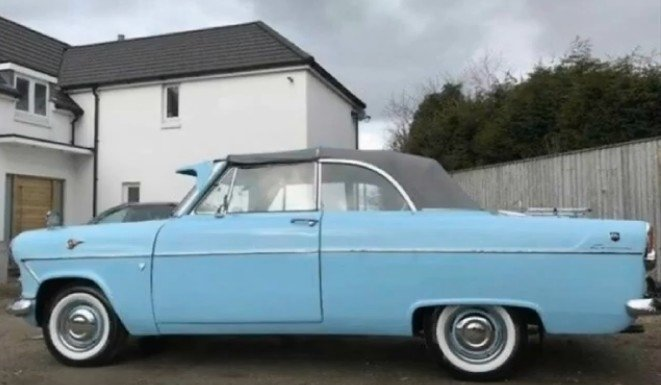 1959 Ford Consul MK11 Lowline Convertible SOLD (picture 1 of 6)