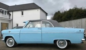 1959 Ford Consul MK11 Lowline Convertible For Sale