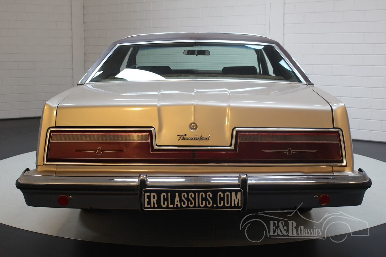 Ford Thunderbird coupe 1978 original Dutch car 40309 KM For Sale (picture 4 of 6)