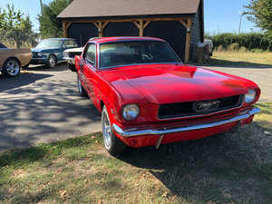 1966 Red Ford Mustang V8 Auto PROJECT For Sale
