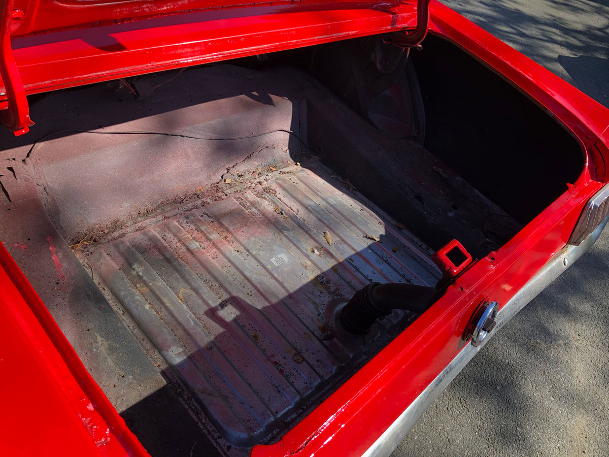 1966 Red Ford Mustang V8 Auto PROJECT For Sale (picture 6 of 6)