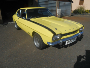 1971 Ford Capri mk1, Perana clone, Never welded no rust For Sale
