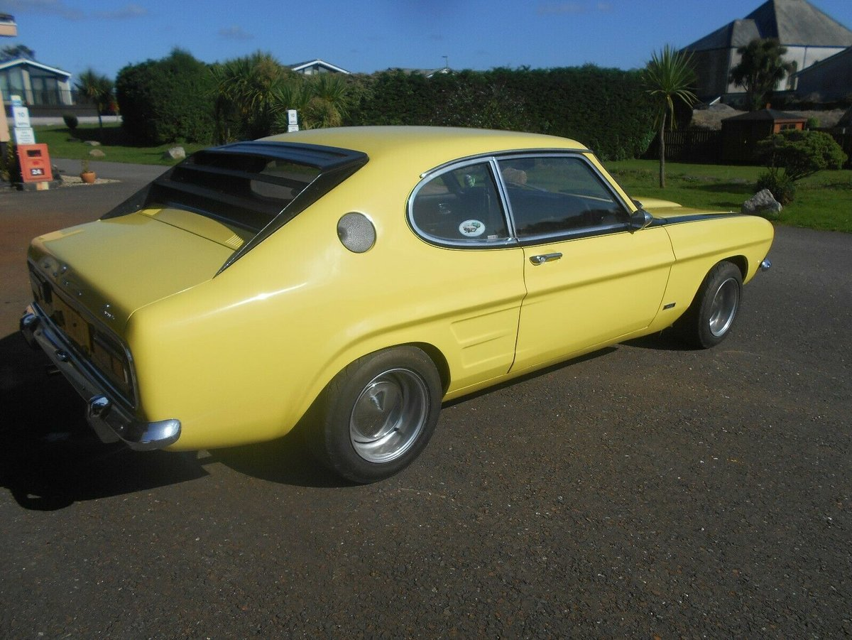 1971 Ford Capri mk1, Perana clone, Never welded no rust For Sale (picture 4 of 6)