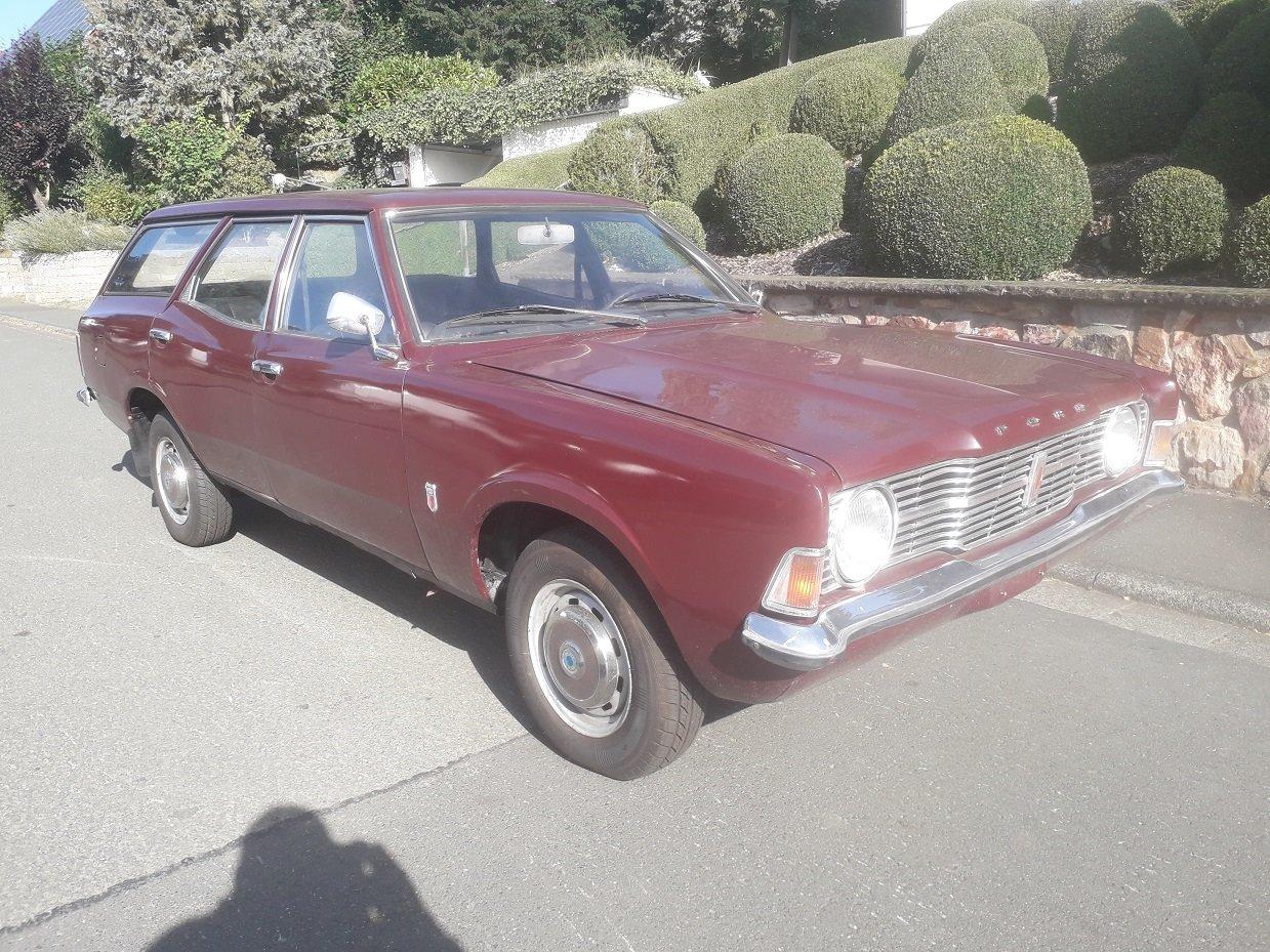 1971 Ford Cortina MK3 1,6  Estate For Sale (picture 1 of 6)