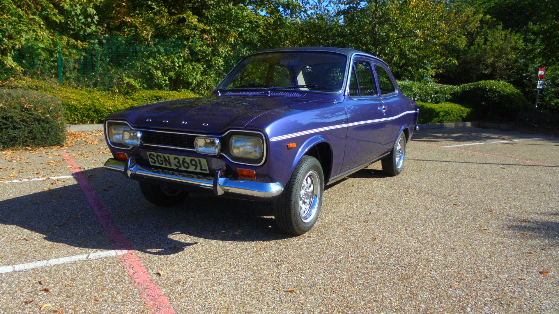 1973 FORD ESCORT MK1 1300 E 2DR For Sale (picture 1 of 6)