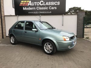 2002 Ford Fiesta 1.3 Ghia, 23,000 Miles, One Owner  For Sale