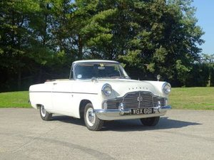 1959  Ford Zephyr MKII Convertible