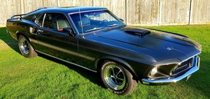 1969 Mach 1 Mustang 428 Cobra jet For Sale