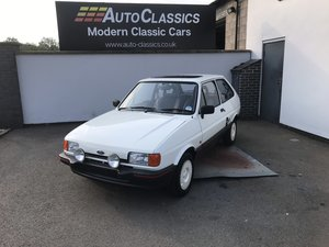 1988 Ford Fiesta 1.4s, 17,000 Miles  For Sale