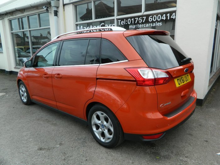 2011/61 Ford Grand C-Max 1.6TDCi Zetec 5dr 7 Seater 54104mls For Sale (picture 3 of 6)