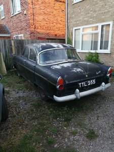 1962 Ford consul 375 1961 restoration/winter project