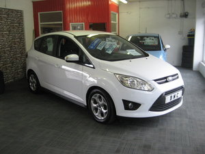 2012 Ford C-MAX 1.6 Zetec manual in white For Sale