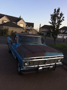 1973 Ford F100 LWB Pick Up