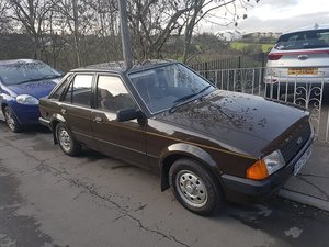 1984 Ford escort mk3 1300l rare brown For Sale