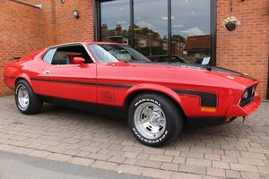 1971 Ford Mustang Mach 1 351 V8 | Red & Satin Black Decals  For Sale