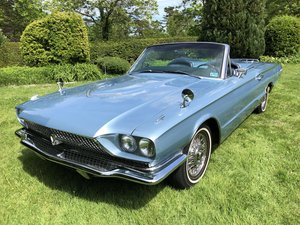 1966 FORD THUNDERBIRD CONVERTIBLE WITH SPORTS ROADSTER KIT For Sale