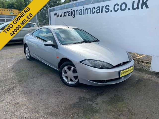 1999 FORD COUGAR 2.0 16v Two Owners 42000 Miles FSH For Sale (picture 1 of 6)