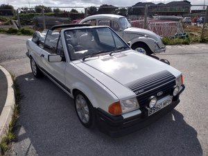 1985 Ford Escort Mk3 1.6i RS1600i Rep Cabriolet 81K For Sale