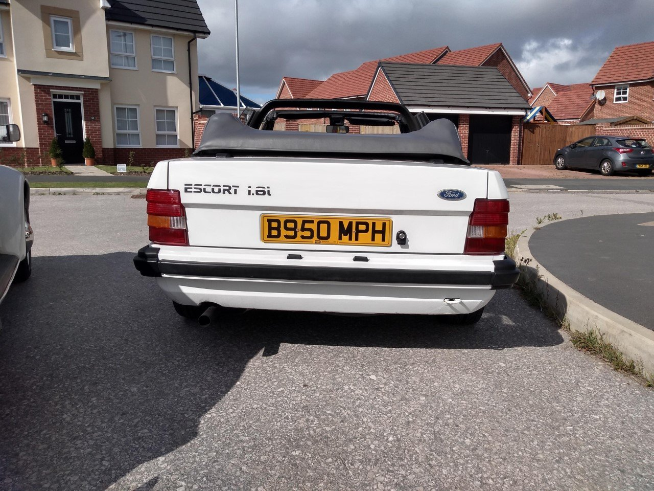 1985 Ford Escort Mk3 1.6i RS1600i Rep Cabriolet 81K For Sale (picture 5 of 6)