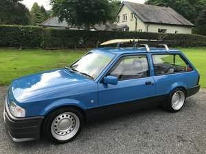 1990 FORD ESCORT MK4 'SURF' ESTATE IN BLUE SIMPLY STUNNING!! SOLD