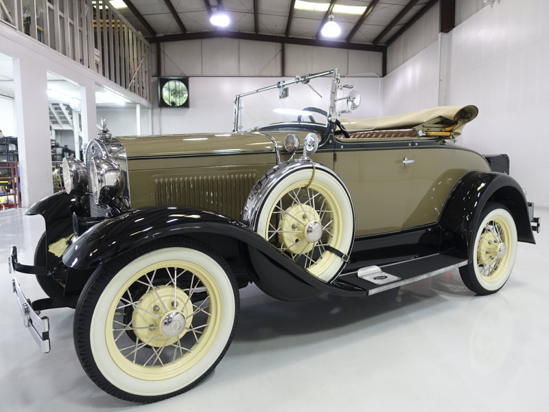 1930 Ford Model A Deluxe Rumble Seat Roadster For Sale (picture 1 of 6)