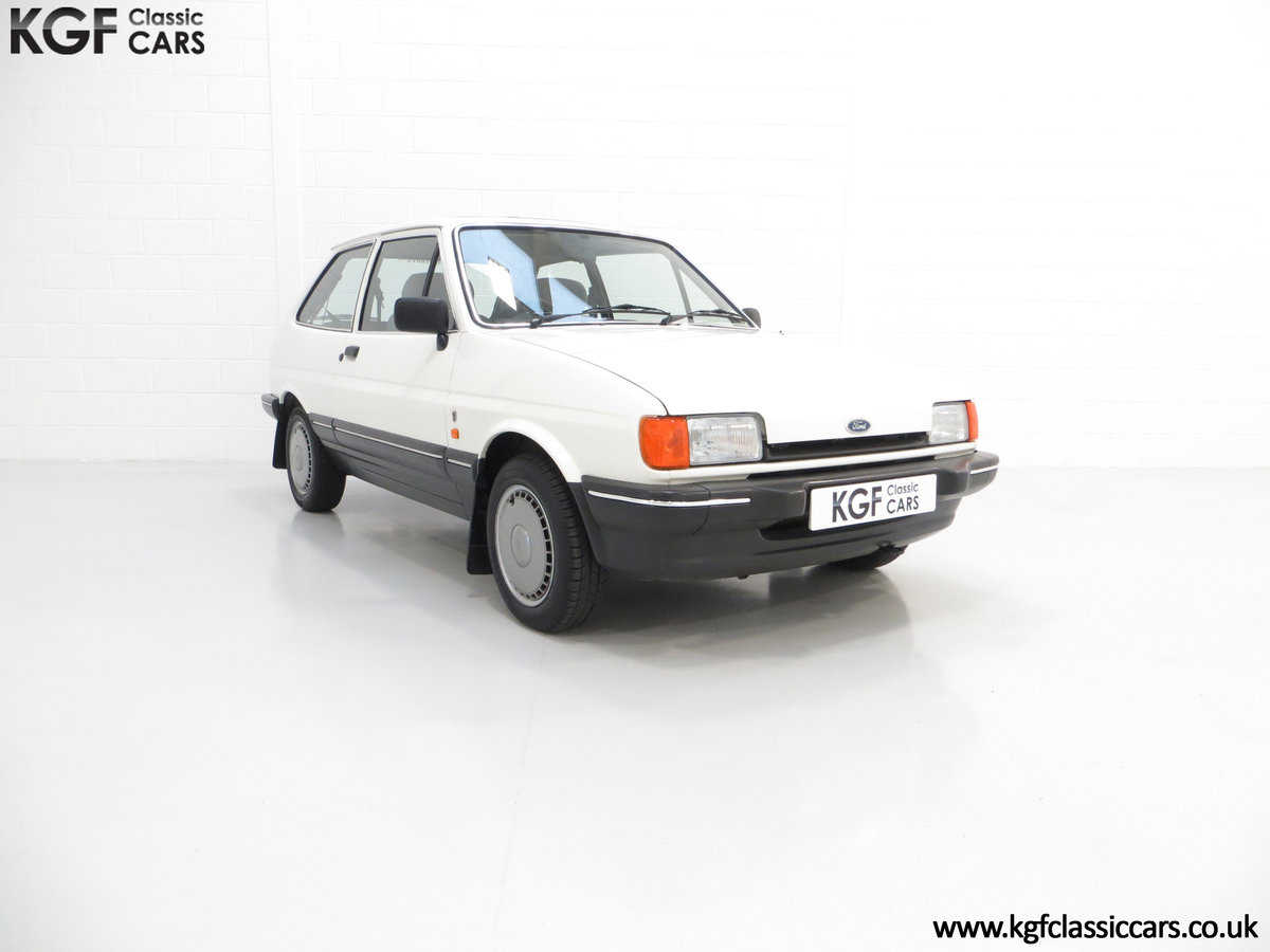 1987 An Astonishing Ford Fiesta Mk2 1.4 Ghia with 34,816 Miles SOLD (picture 1 of 6)