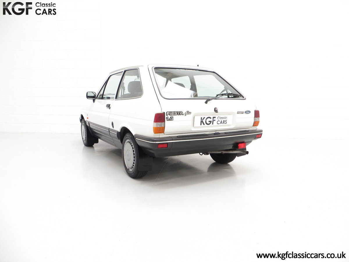 1987 An Astonishing Ford Fiesta Mk2 1.4 Ghia with 34,816 Miles SOLD (picture 4 of 6)