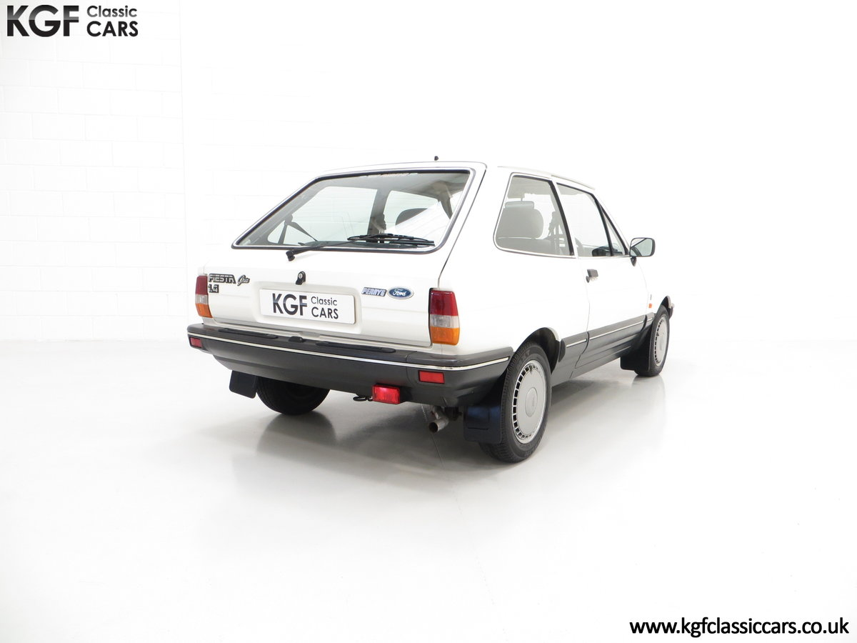 1987 An Astonishing Ford Fiesta Mk2 1.4 Ghia with 34,816 Miles SOLD (picture 5 of 6)