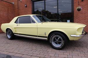 1967 Ford Mustang Coupe 289 V8 4-Speed Manual For Sale