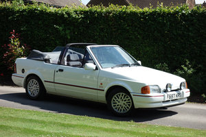 1989 Ford XR3i Cabriolet 87000m O/hauled 2010 VGC For Sale