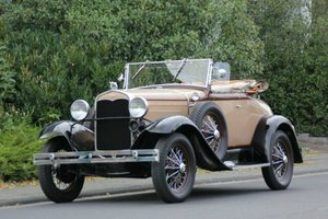 Ford Model A Roadster De Luxe, 1931 SOLD