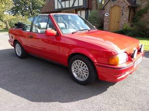 1990 Ford Escort XR3i Cabriolet For Sale