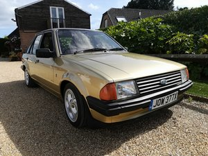 1982 Escort Mk3 1.3 Ghia - Mot Aug 2020 - 1600 fitted - Low -