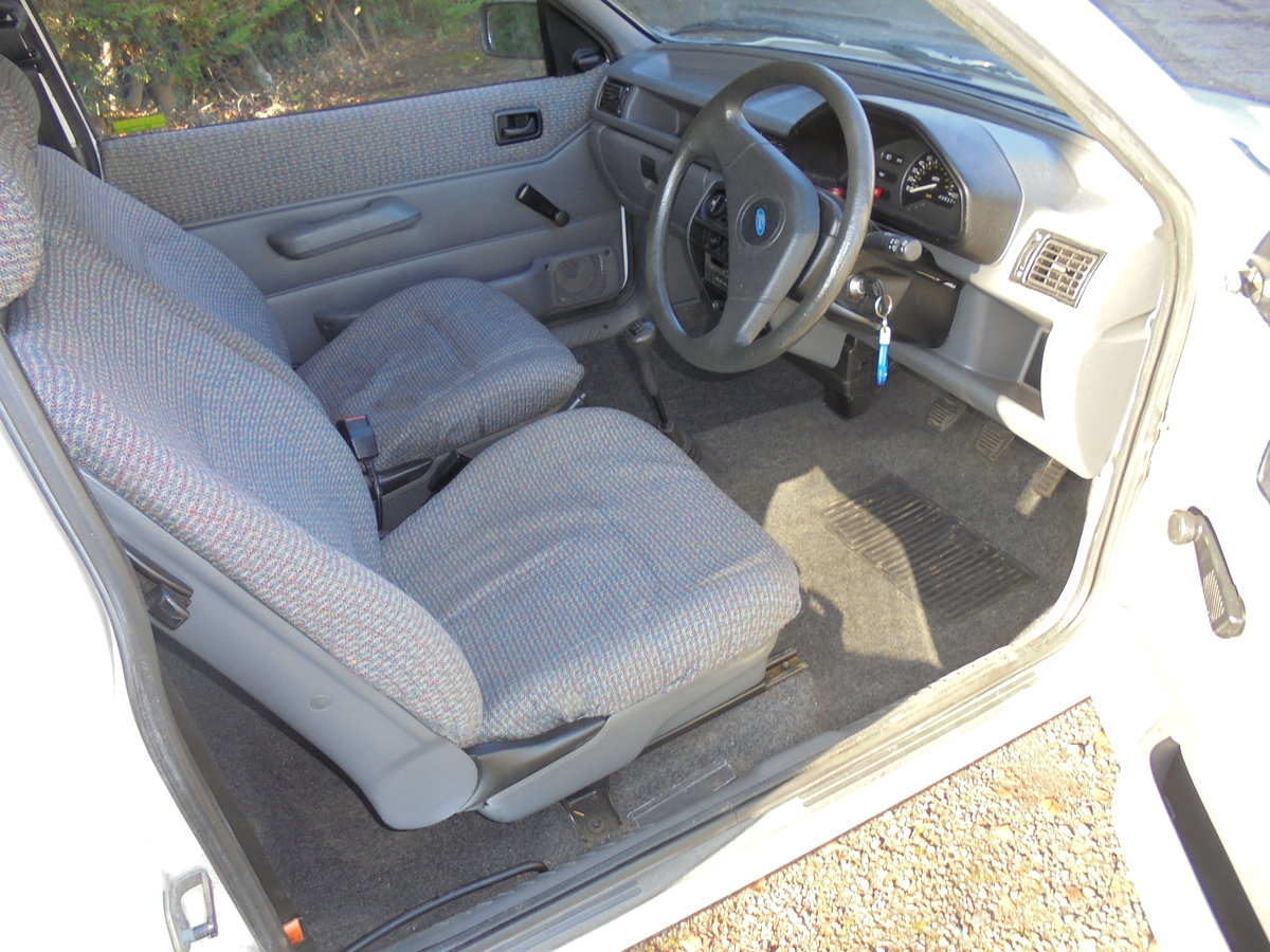 1990 FORD FIESTA POP + For Sale (picture 6 of 6)