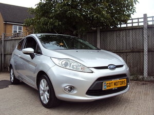 2009 Ford Fiesta Mk7 1.25L Zetec – LOW MILEAGE  For Sale