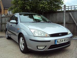 2004 Ford Focus Zetec – 1.8 Petrol - MOT til July 2020 SOLD