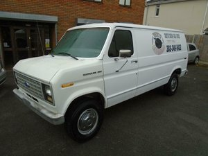 FORD ECONOLINE E250 5.8 V8 AUTO LHD PANEL VAN(1991) For Sale