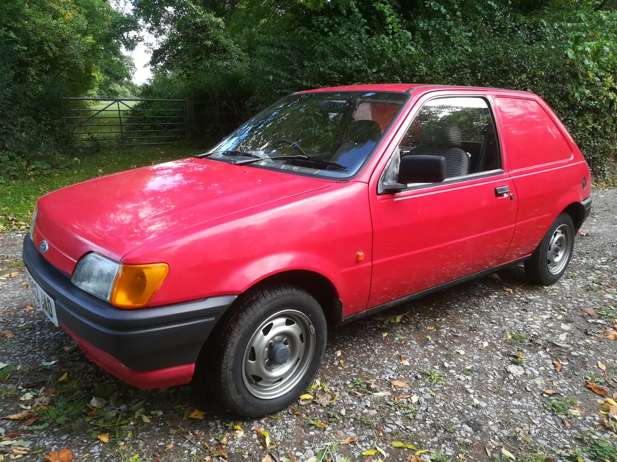 1991  Classic Ford Fiesta Van SOLD (picture 1 of 6)