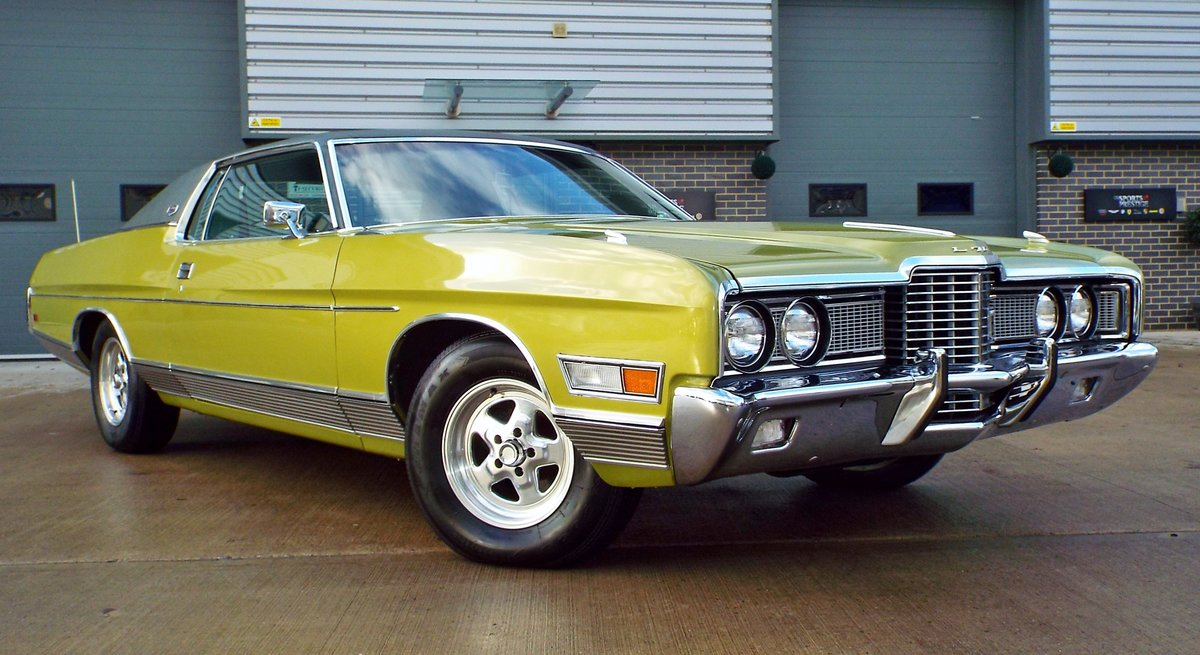 1972 Ford Galaxie 6.6 V8 LTD Pure Original Example Super Cool  For Sale (picture 1 of 6)