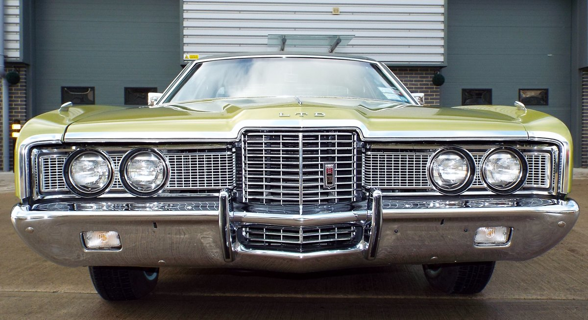 1972 Ford Galaxie 6.6 V8 LTD Pure Original Example Super Cool  For Sale (picture 2 of 6)