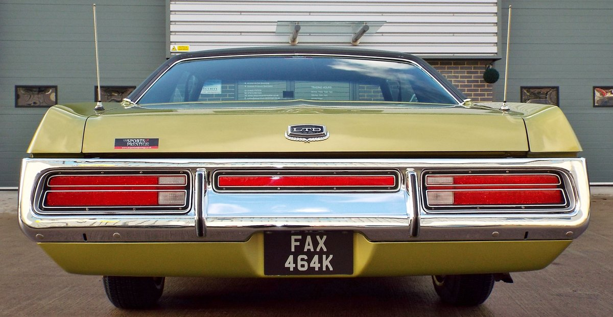 1972 Ford Galaxie 6.6 V8 LTD Pure Original Example Super Cool  For Sale (picture 6 of 6)