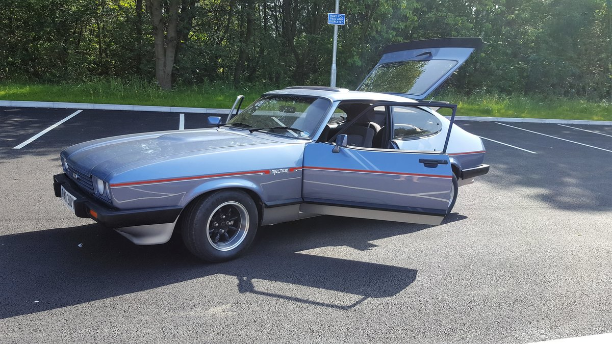 1983 ford capri 2.8 injection For Sale (picture 2 of 6)